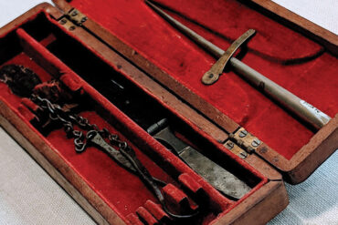 Annie Alexander's medical tools