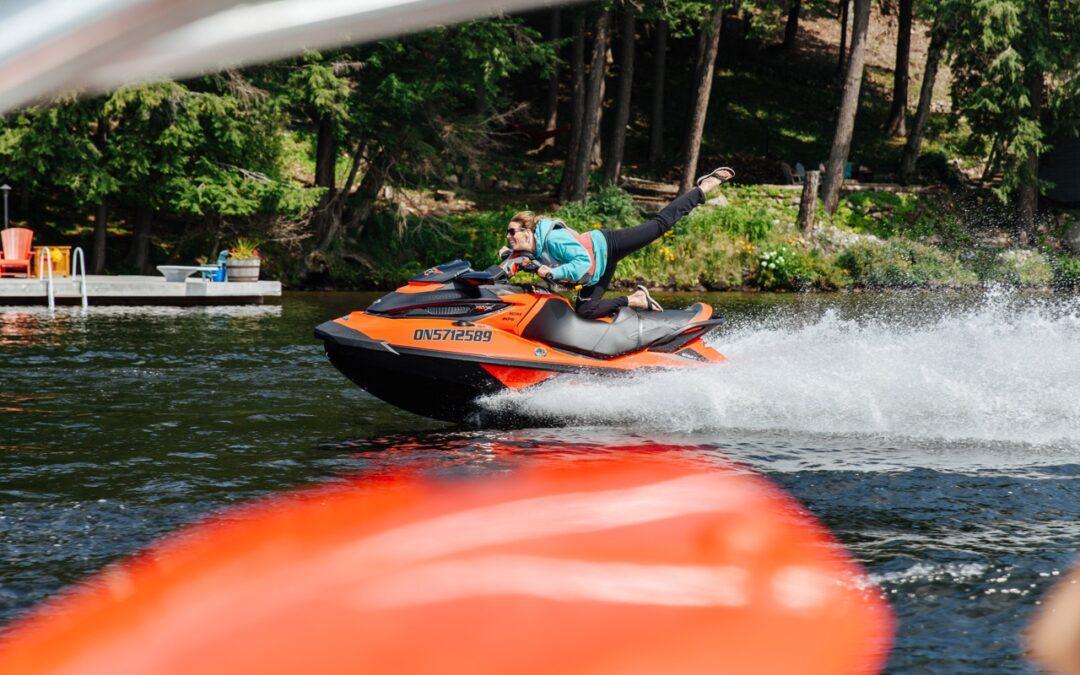 Sea Doo Acrobatics Fun On The Water