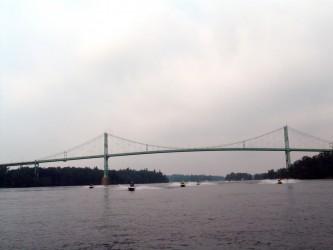 Photo of 1000 Islands International Bridge on 1000 Islands Sea Doo Tour