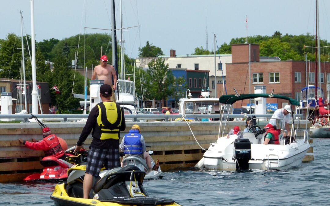North Channel Sea Doo Tour Video Ontario