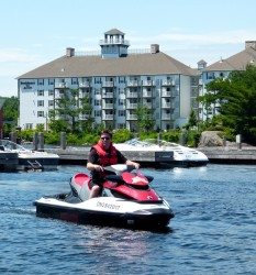 Waterfront at Residence Inn by Marriott, Ontario Sea Doo Lodgings