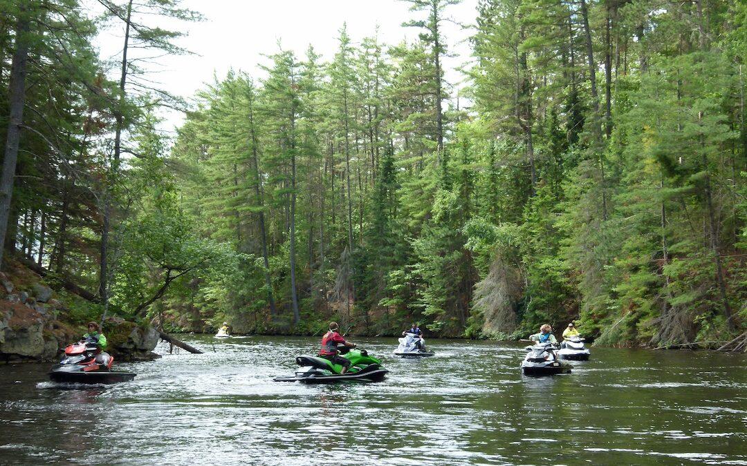 Upper Ottawa River Sea Doo Tour Ontario Ride Planner