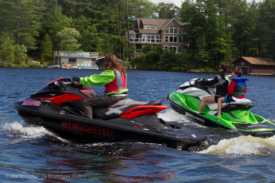 Jet Ski Ride Spoilers