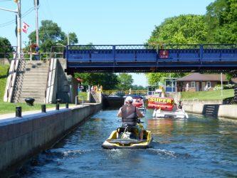 Six Best Ontario Waterway Bypass Systems: Bobcaygeon Lock & Swing Bridge