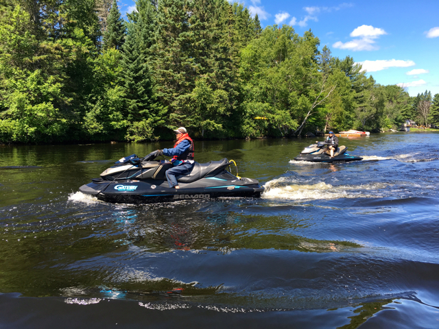 Magnetawan River Ontario Sea Doo Tour Planner