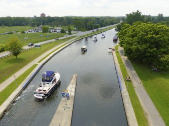 Six Best Ontario Waterway Bypass Systems: Peterborough Lift Lock