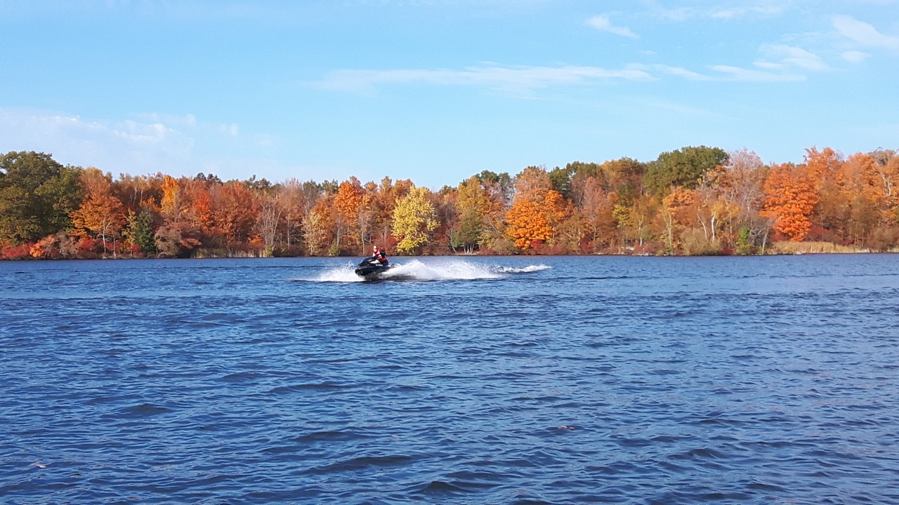 Fall Sea Doo Riding