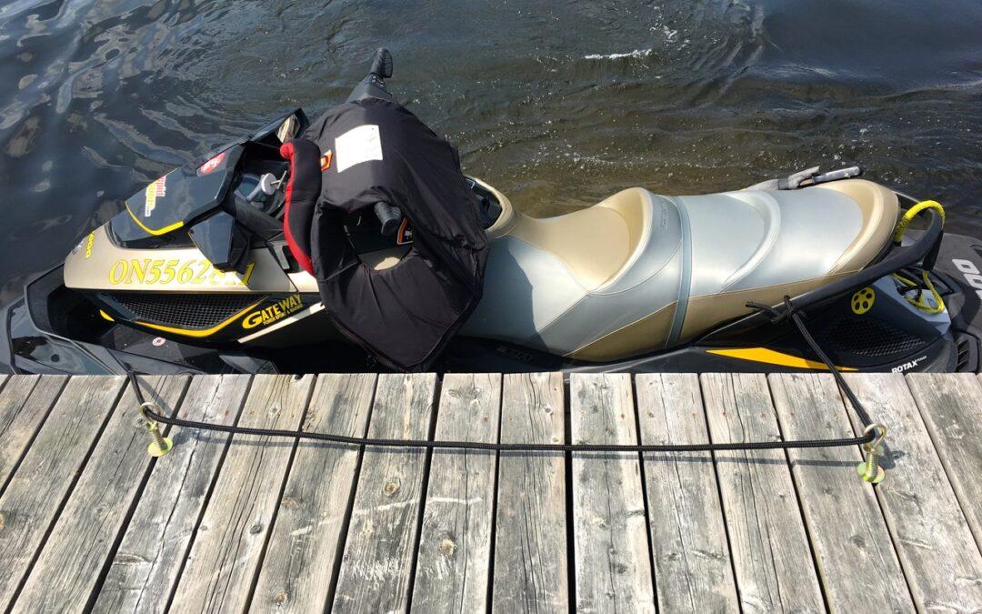 Portable Dock Cleats: Easy Jet Ski Mooring