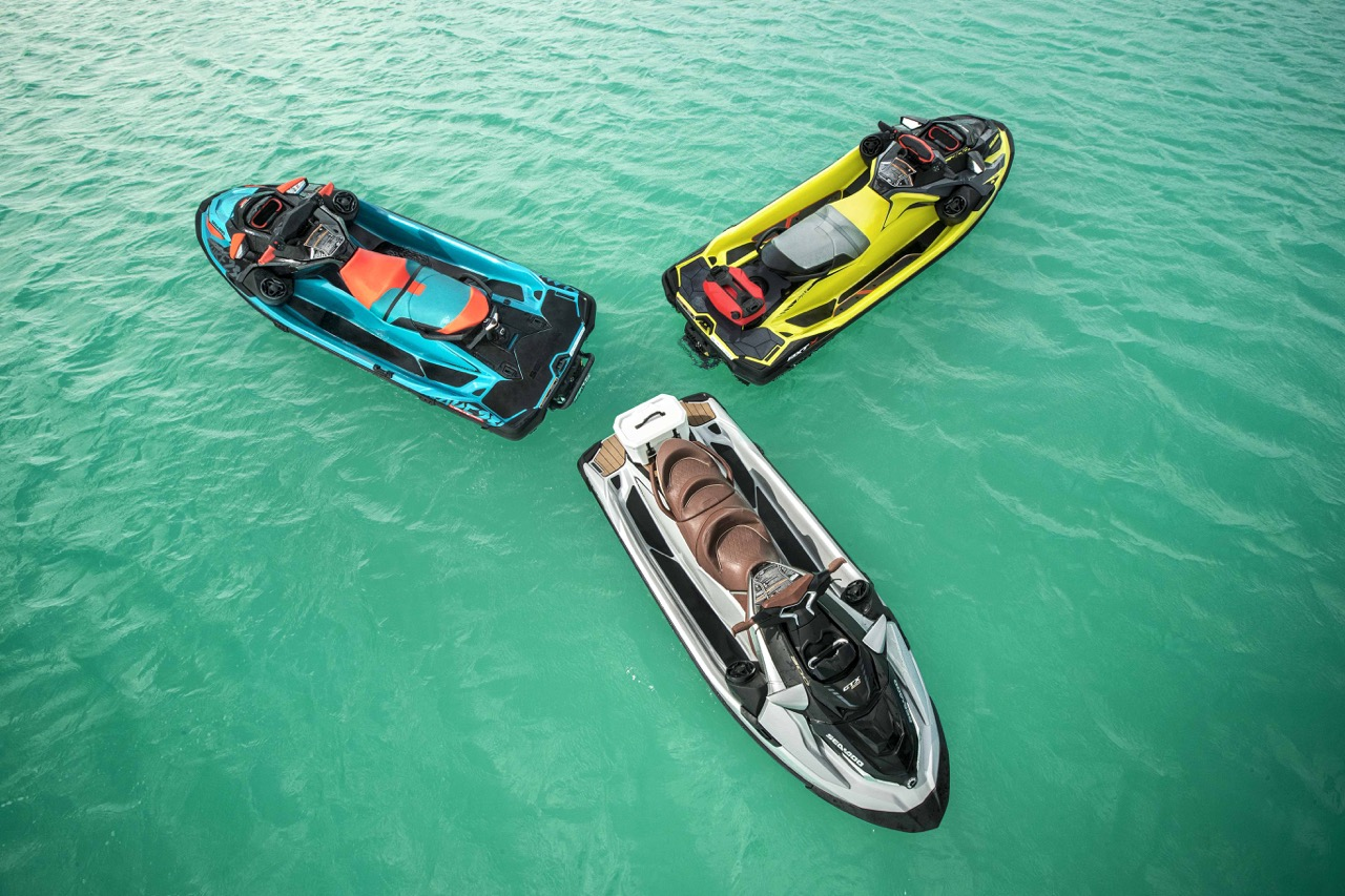 2018 Sea Doo Innovations on Wake Pro 230, GTX Limited and RXT 300