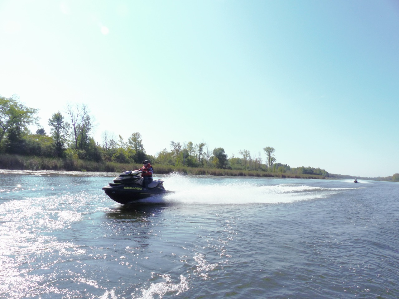 Letting 'er rip between Port Perry Bobcaygeon
