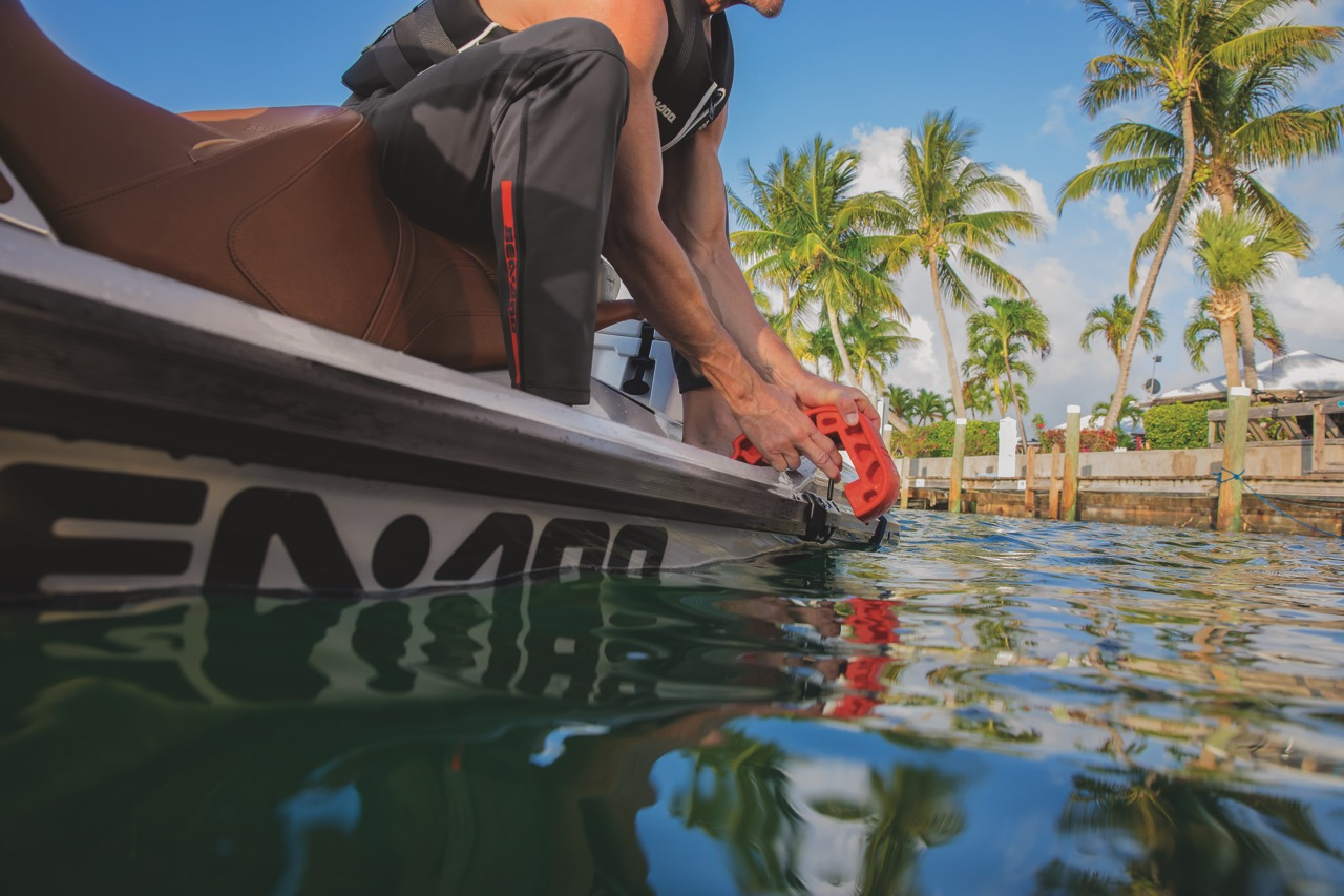 Sea Doo Fenders are easy to use