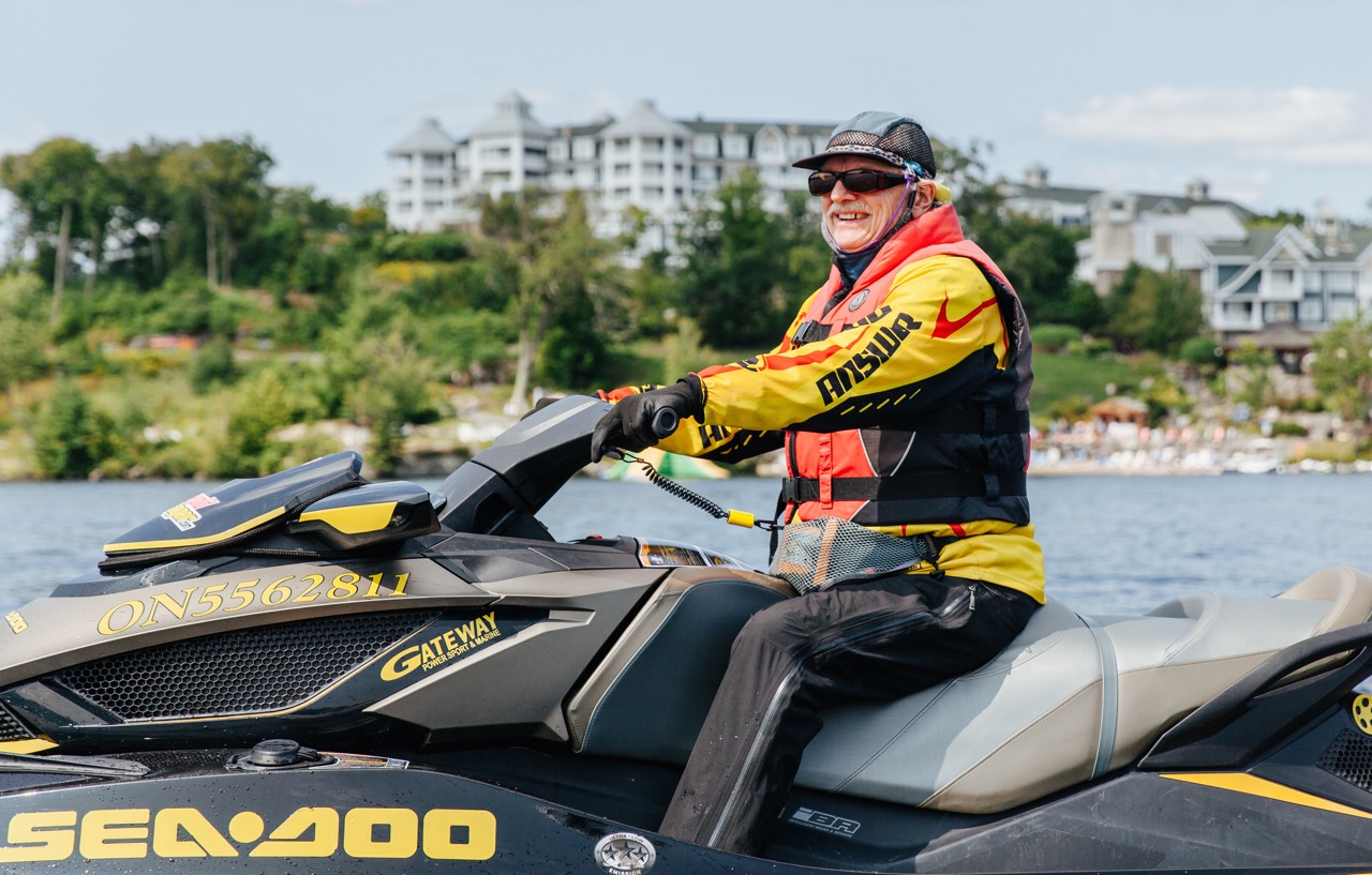 Licence numbers as required by Ontario boating regs