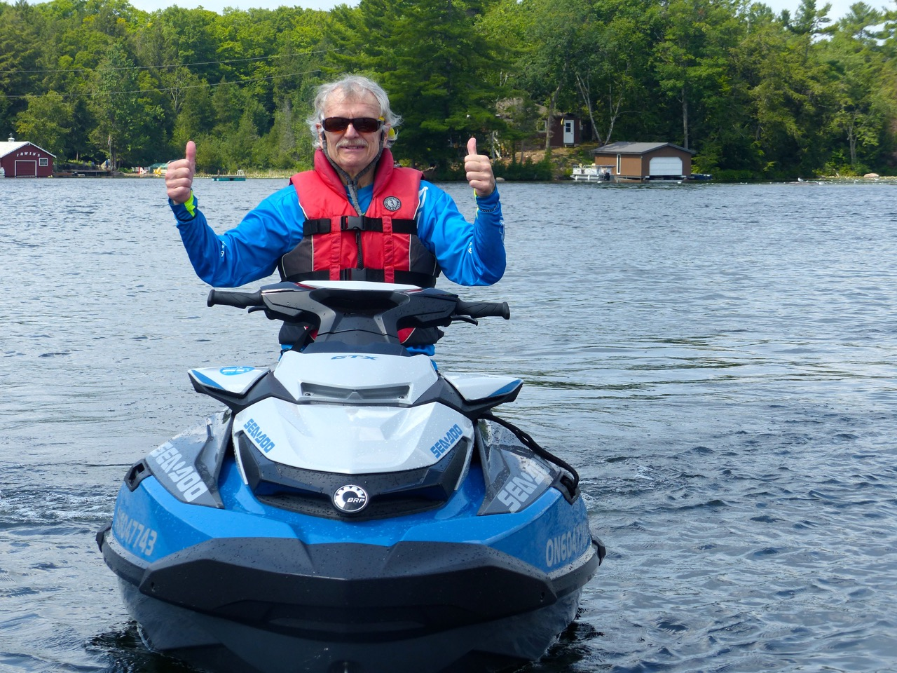 Thumbs up for the new Sea Doo platform