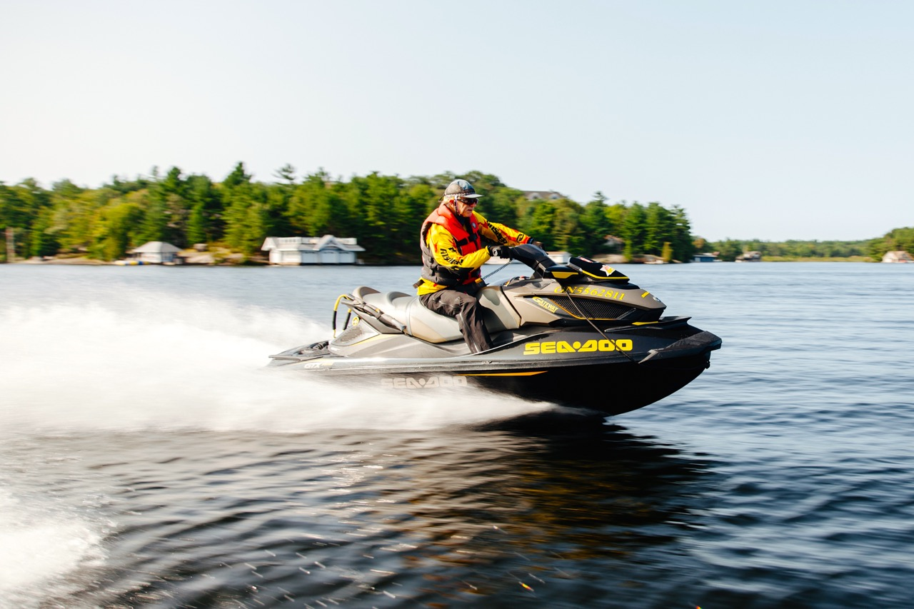 The year before the new Sea Doo platform
