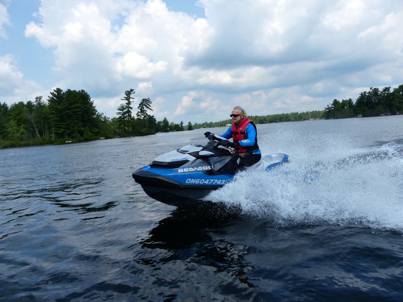 This is the new Sea Doo platform