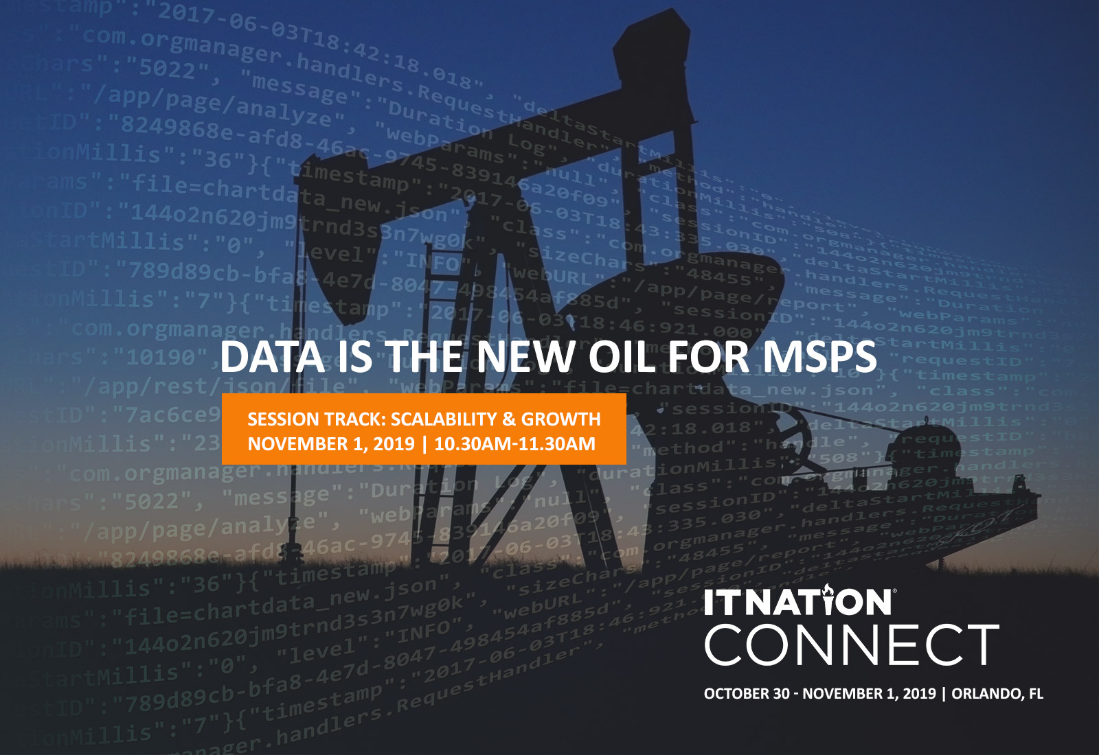 Data is the New Oil for MSPs | Cognition 360 @ ConnectWise IT Nation 2019