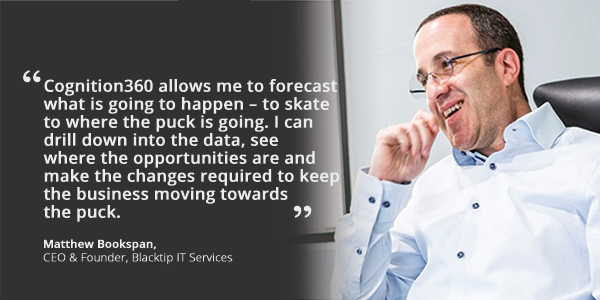 Blacktip IT Services CEO Matthew Bookspan hero quote