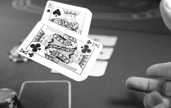 Know when to hold 'em, know when to fold 'em - poker