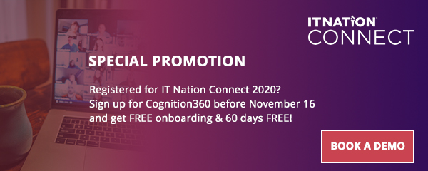 IT Nation Connect 2020 special promo tile
