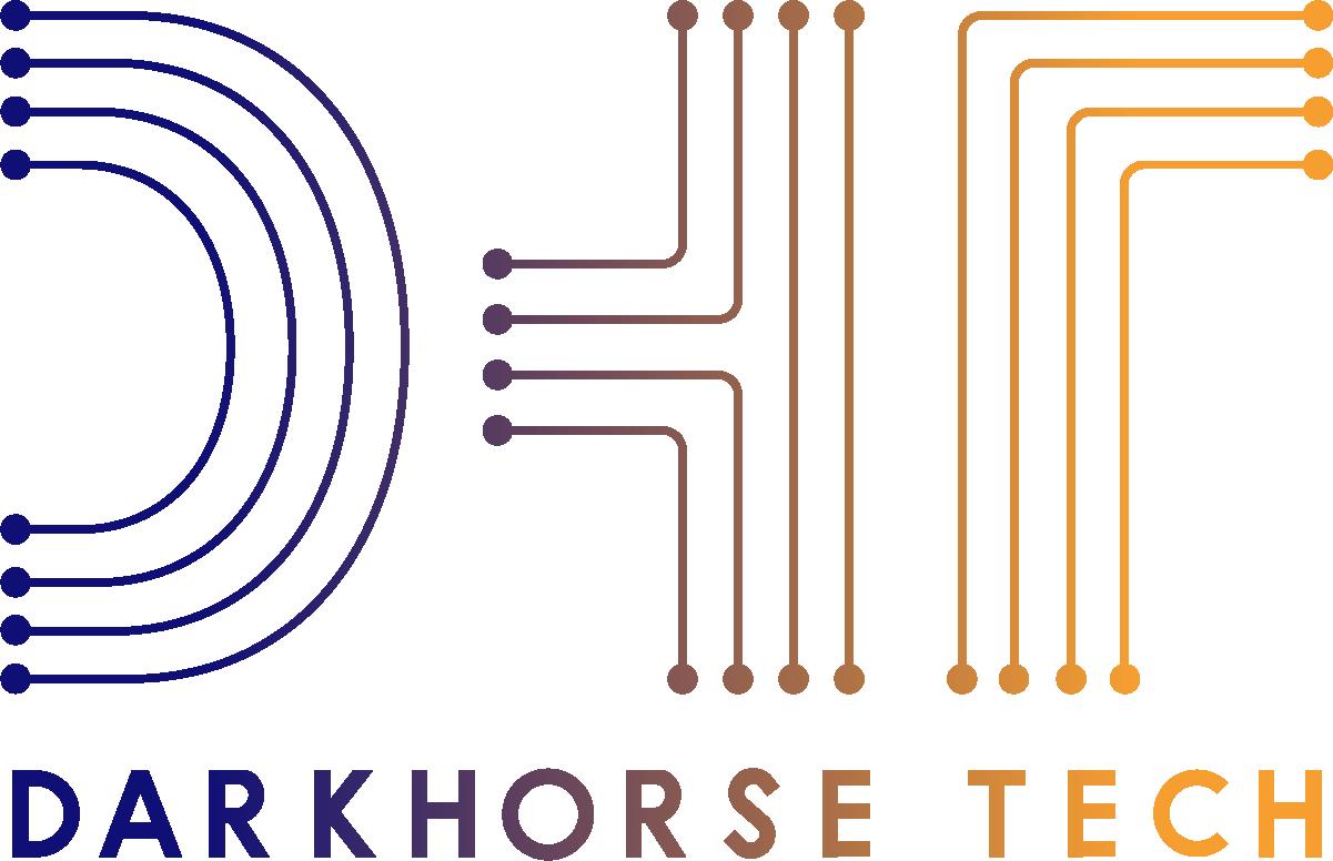 Darkhorse Tech logo | New 2021 | Gradient | Cognition360 client