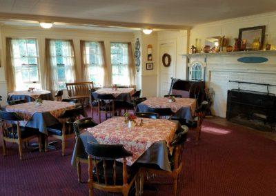 Windflower Inn Dining Room