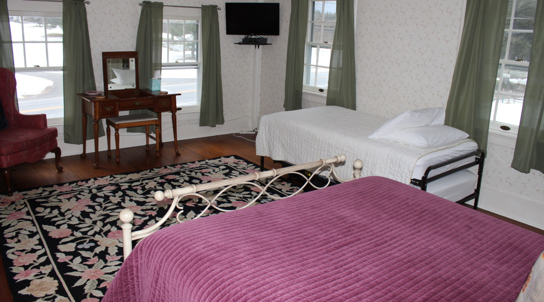 Windflower Inn Bed and Breakfast Great Barrington, MA - The Catamount - Room 5 - Named after the Catamount ski area in South Egremont, MA