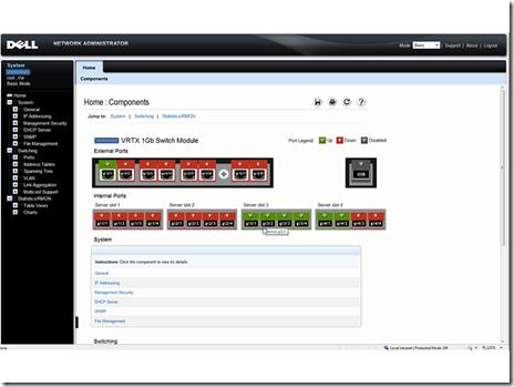 PowerEdge VRTX - Network Management