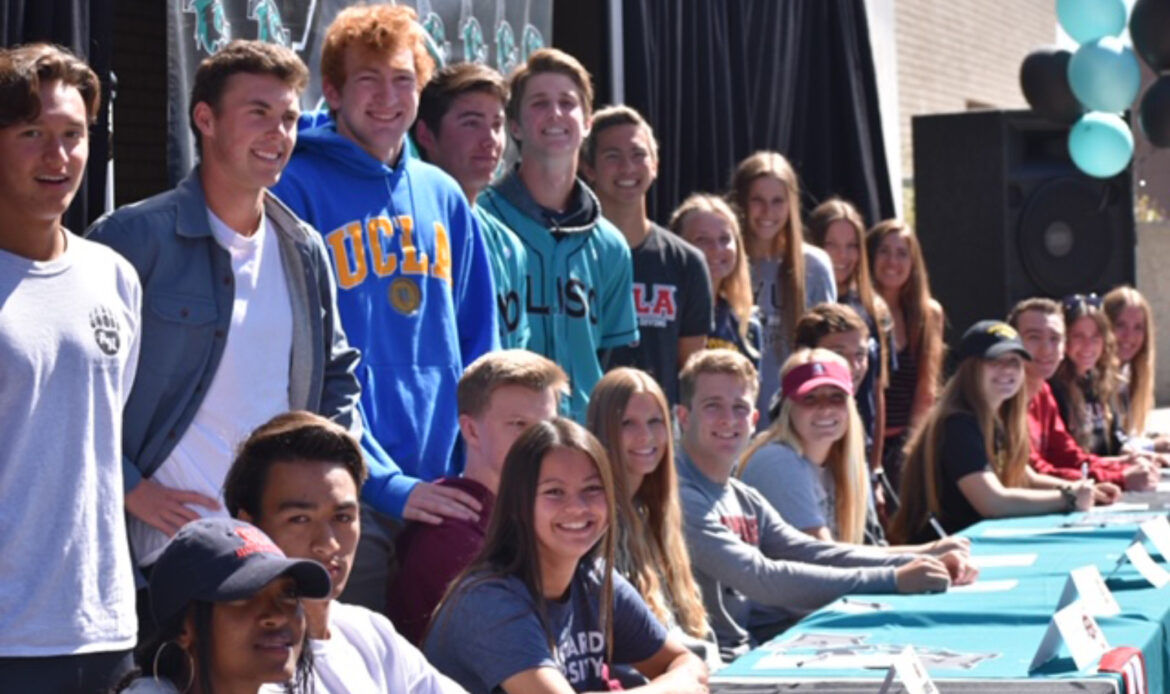 Aliso Niguel High wins nine league championships; 30 athletes sign letters of intent