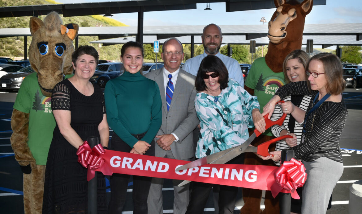Capistrano Unified School District Unveils First Installment of Solar Panel Project at San Juan Hills High School
