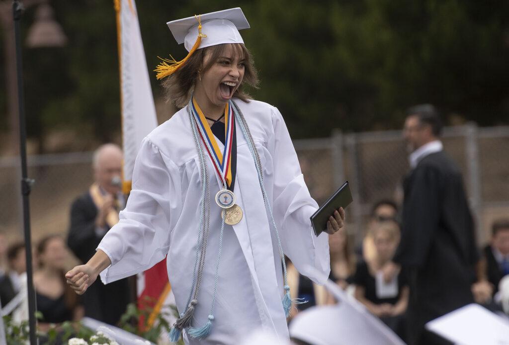 Class of 2019 graduates from San Juan Hills High School