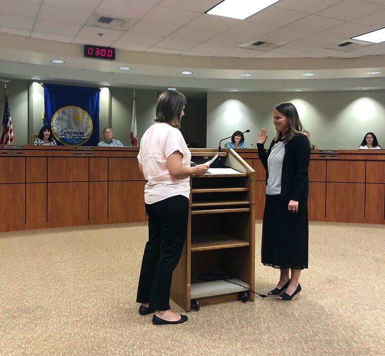 CUSD Board of Trustees Appoint Krista Castellanos to Trustee Area 5