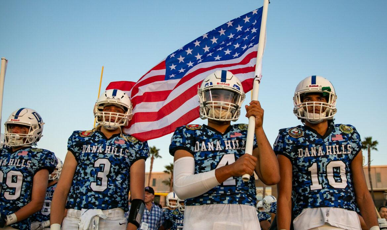 Dana Hills High School Football starts season 4-0, first time in school history