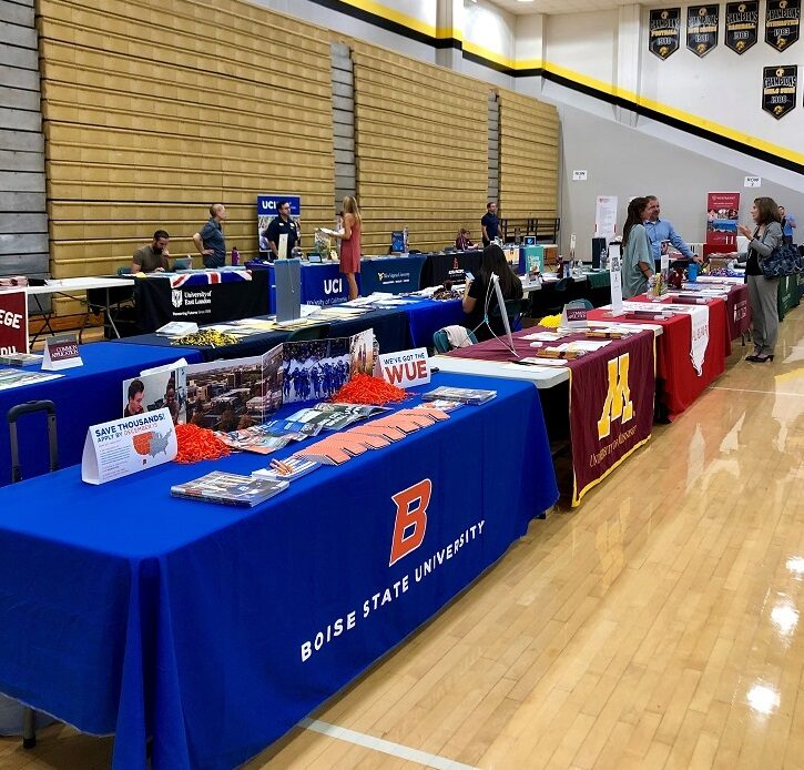 CUSD Fifth Annual College Fair Shows Students the Sky is the Limit
