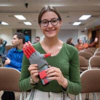 San Juan Hills High Student Creates Prosthetics for Third-World Communities through 3D Printing Class