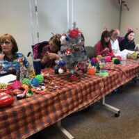 Annual Holiday Boutique at District Offices Delight Shoppers, Raises Funds