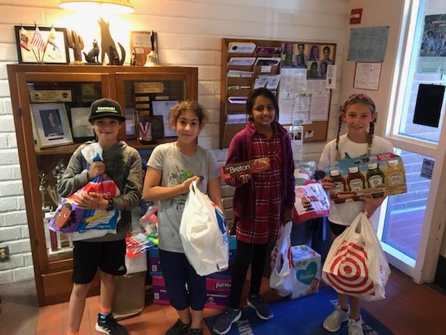 CUSD Schools Celebrate the Season of Giving