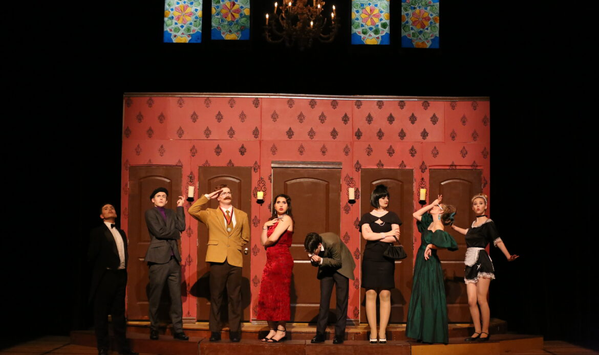 Capistrano Valley High School 'Clue' production wins first place