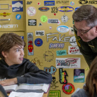 OC Sheriff's Sergeant learns 'a lot' while serving as Shorecliffs Principal for a Day