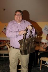 Peter Van Nortwick and purse