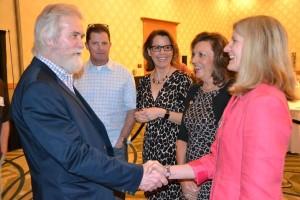 SCI - Vicki meeting Shane Mahoney w LW and Ann R