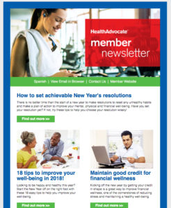 20180110HealthAdvocateNewsletter