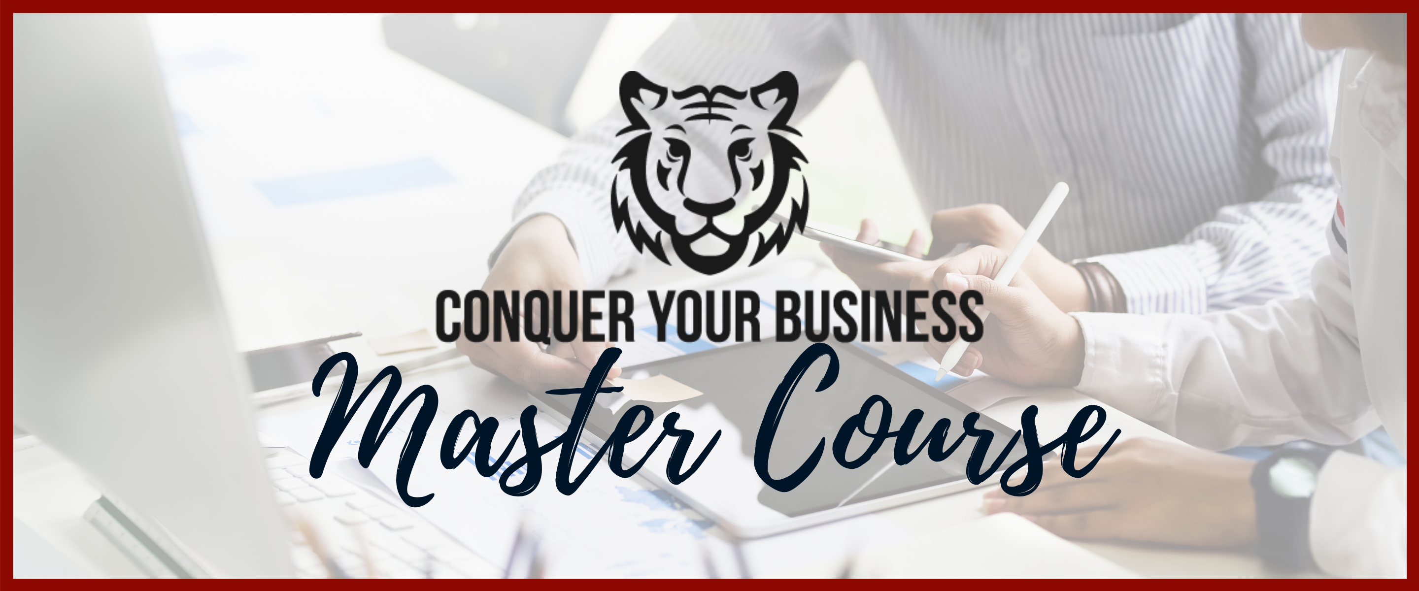 Master Course Banner