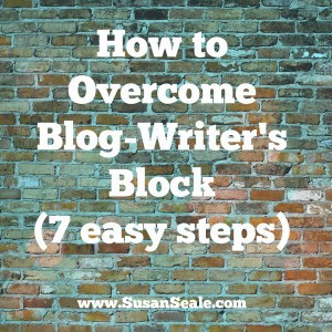 How to Overcome BlogWriter's Block