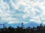 Cypress-Skyline_7x14_landscape-oil-painting