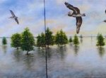Daybreak-Pelican-Roost-Vemice-Marina-Dyptych