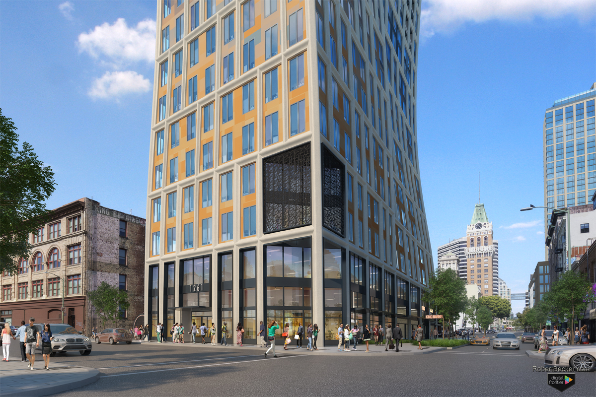 1261 Harrison Street Renderings