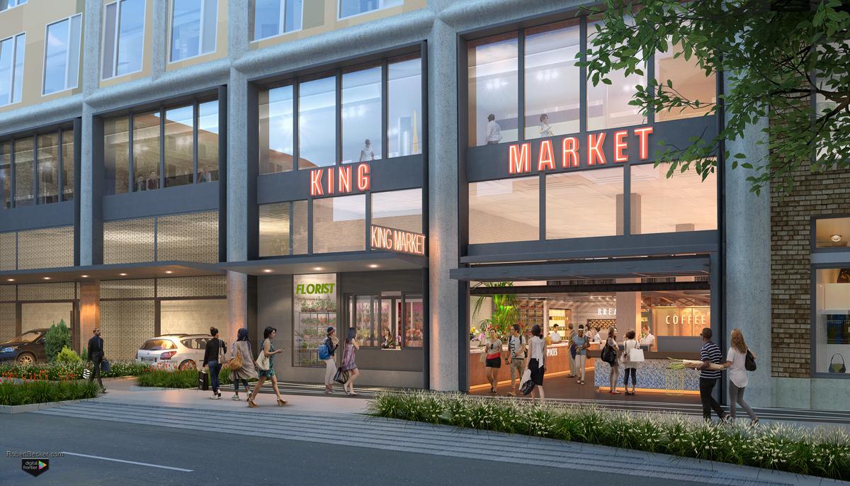 1261 Harrison Street photorealistic rendering