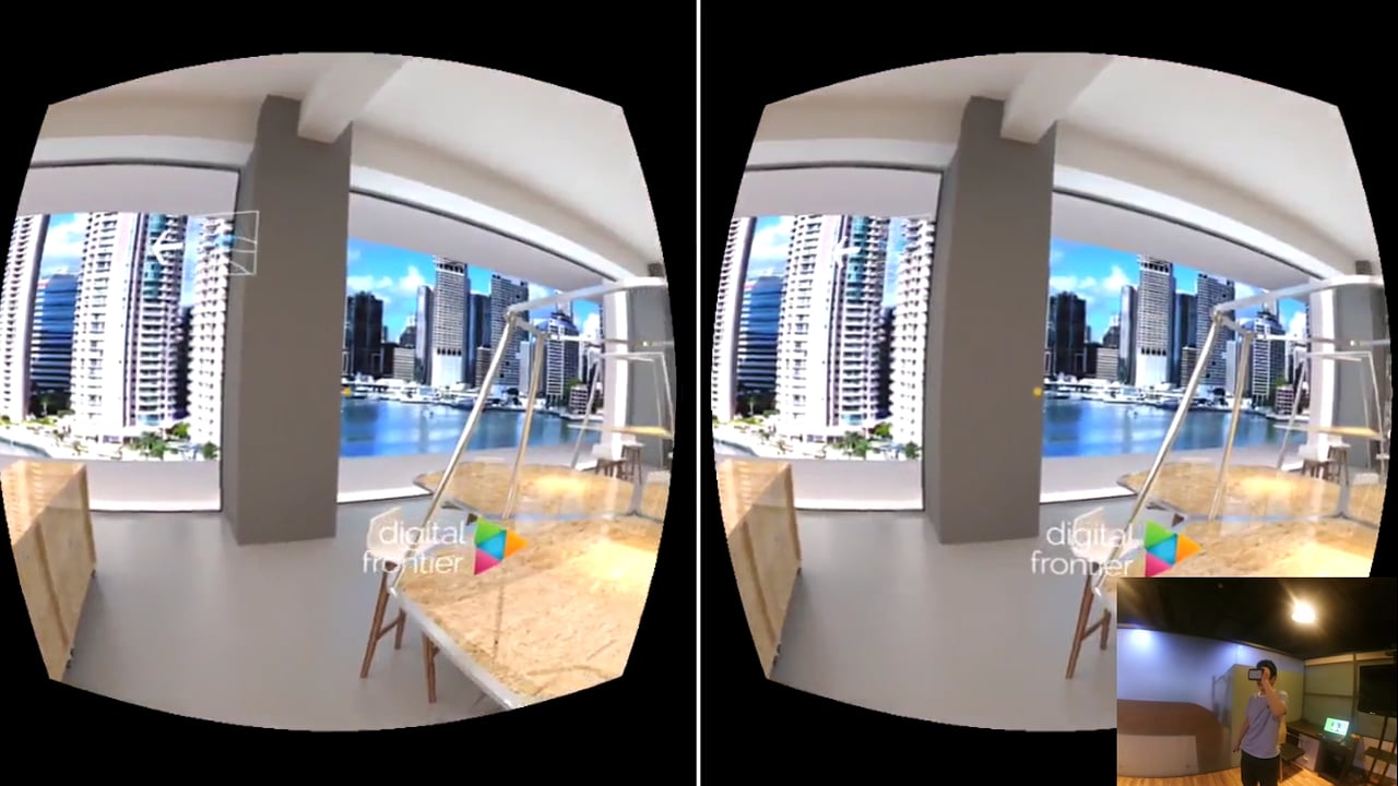Virtual Reality co-working space