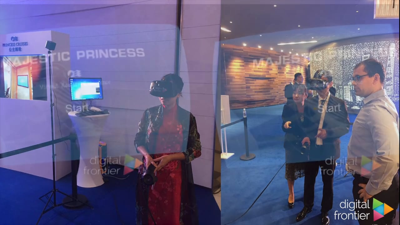 Virtual Reality Showreel 2016