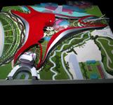 architectural scale model